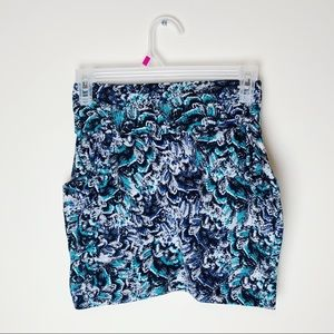 Delia's bodycon patterned skirt